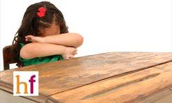 Niños que lloran al ir al colegio/guardería