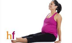 Estiramientos musculares durante el embarazo