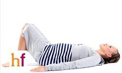 Ejercicio para tonificar el suelo pélvico en el embarazo