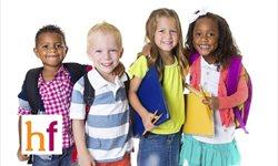 El peso ideal en las mochilas de los niños