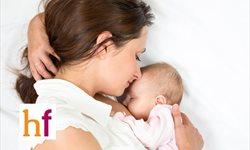 Las 4 posturas para amamantar al bebé