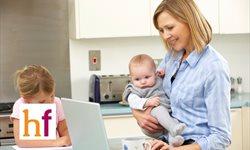 Madres trabajadoras: encontrar el equilibrio