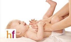 Beneficios del masaje infantil