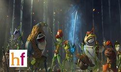 Cine para niños: 'El Reino de las Ranas'
