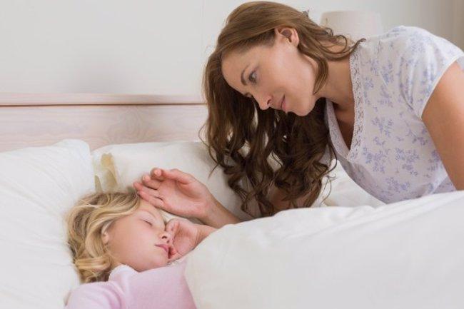 Foto: Pesadillas, cómo consolar a los niños (THINKSTOCK)