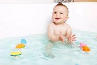 Bebé baño bañera