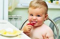 Cómo estimular el sentido del gusto del bebé